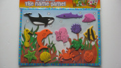 LIFT OUT SEALIFE PUZZLE WITH ENGLISH/SPANISH NAMES