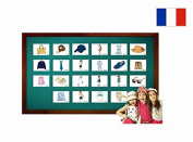 Fiches de vocabulaire - Vêtements - Clothing Flashcards in French
