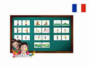 Fiches de vocabulaire - Adjectif 1 - Adjectives Picture Cards in French