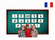 Famille - Fiches de vocabulaire - Family Flashcards in French