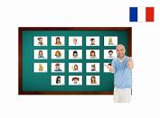 Décrire les gens - Fiches de vocabulaire - Describing People Flashcards in French