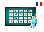 Corvées - Fiches de vocabulaire - Chores and Household Flashcards in French