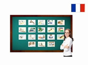 Maison et chambres - Rooms around the House Flashcards in French