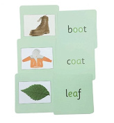 Green Phonics Reading Cards