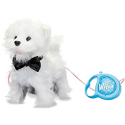Walking Westie Walking Yapping Cute Puppy Dog Toy With Leash by Tobar