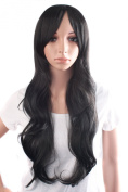 MapofBeauty Charming and Sexy Women's Long Curly Wig Wave Wig