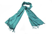 Bewitched Accessories Pashmina Style Scarf In Teal