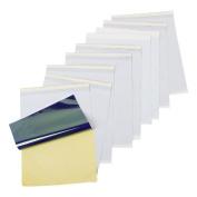 10 Sheets Tattoo Transfer Paper Thermal Copier Machine Dot Matrix Printer Kit