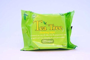 SD61703 Tea Tree Cleansing Face Makeup Wipes x 25