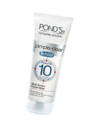 Ponds Pimple Clear White Multi Action Facewash, 50g