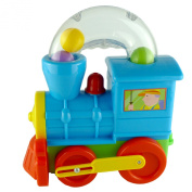 Push Along Ball Blowing Locomotive Toy Train For Toddlers