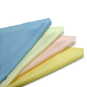 100 × Microfiber Cleaner Camera Lens Glasses Dust Cleaning Cloths Colourful New