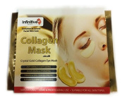 50 x Infinitive Beauty Pack New Crystal 24K Gold Powder Gel Collagen Eye Mask Masks Sheet Patch, Anti Ageing Ageing, Remove Bags, Dark Circles & Puffiness, Skincare, Anti Wrinkle, Moisturising, Moisture, Hydrating, Uplifting, Whitening, Remove Blemishe ..