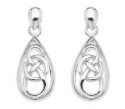 Ornami Celtic Knot Earrings, Silver, Model SE161