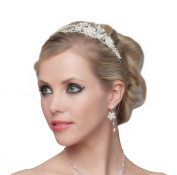Gorgeous Pearls and Flowers Tiara - SH-DL-C5174