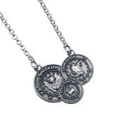 Official Harry Potter Jewellery Gringotts Coin Necklace