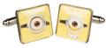 Despicable Me Minions Goggle Head Cufflinks