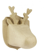 Decopatch Small Reindeer Trophy, Brown