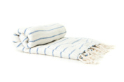 Organic Bamboo & Cotton Peshtemal Turkish Bath Hammam Pestemal Towel Fouta