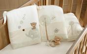 Organic Cotton Cot/Cotbed Bumper - Teddy & Ele Range