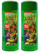 TMNT Teenage Mutant Ninja Turtles Bubble Bath 2 Pack