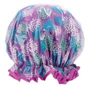 Upper Canada Soap Studio Dry Shower Cap, Floral