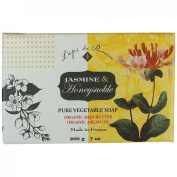 Jardins De France Jasmine and Honeysuckle Organic Soap 200 G