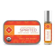 LIVETART ESSENTIALS - Spirited - Sweet Orange and Bergamot Natural Perfume Oil