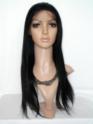 Sina Beauty Wholesales High Quality 70cm Lace Wigs 100% Malaysian Human Hair Natural Straight Full Lace Wig #1 No Shedding