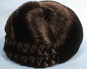 BLISS Dome Wiglet Chignon Bun Hairpiece 8 Chestnut Brown