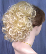 PHOEBE Clip On Hairpiece by Mona Lisa 613 Bleach Blonde
