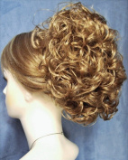PHOEBE Clip On Hairpiece by Mona Lisa 19 Light Strawberry Blonde