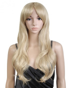 Cool2day® Sexy Women's 70cm Long Wavy Blonde Heat Friendly Hair Party Wig 344