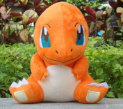 28cm Pokemon Plush Cool Charmander Doll Plush Anime Doll Stuffed Animals Cute Soft Collection Toy Best Gift for Kids
