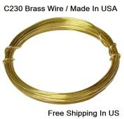 Modern Findings 16 Ga Red Brass Wire Dead Soft 15m / C230 Brass