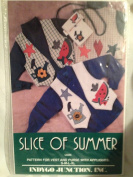 Slice of Summer - Pattern for Vest and Purse with Appliques