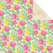 365 Double-Sided Cardstock 30cm x 30cm -Smell The Roses