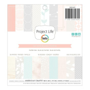 Becky Higgins Project Life 6x6 Paper Pad 36/pkg - Southern Weddings Edition
