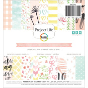 Becky Higgins Project Life 6x6 Paper Pad 36/pkg - Inspire Edition