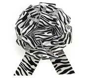 The Perfect Zebra Bow Pull Bows Set of 6
