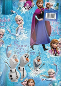 Disney Frozen Wrapping Paper & Gift Tags - 2 Sheets of Gift Wrap & 2 Tags