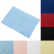 2PCS 30X40cm Cotton Aida 14 Count Cloth Craft Cross Stitch Fabric Needlework 5 Colour Choice