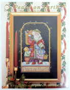 The Yuletide Collection Peace on Earth Counted Cross Stitch Pattern Book 202