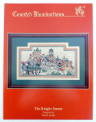 Counted Illuminations The Knight Errant Counted Cross Stitch Pattern