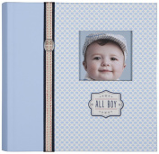 C.R. Gibson Slim Bound Photo Journal Album, All Boy Multi-Coloured
