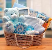 Baby Boy Gift Beloved Baby Carrier Blue Baby Gift Basket