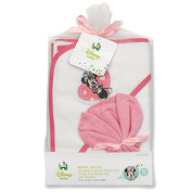 Minnie Mouse Hooded Towel Gift Set