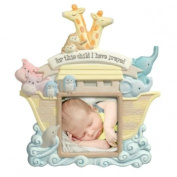 "Grasslands Road® 7.6cm X 7.6cm Noah's Ark ""For This Child I Have Prayed"" Photo Frame"