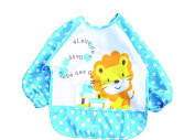 Cutie Baby Baby Toddler Waterproof Sleeved Bib, 1 to 3 years
