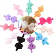 Susenstone®11PC Babys Girls Flower Bowknot Photography Hairband Headband